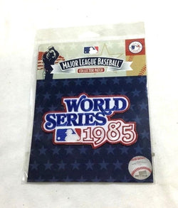 St Louis Cardinals Kansas City Royals 1985 World Series Basic Patch FREESHIP