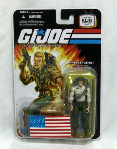 2007 Hasbro GI Joe ARAH 25th Anniversary Duke Figure Cartoon Series NEW Sealed