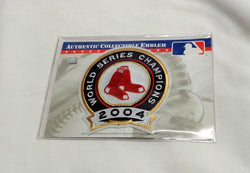 2005 Opening Day Boston Red Sox 2004 World Series Champions Jersey Patch FREESHP