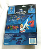 Kenner 1986 Vintage SilverHawks Bluegrass & SideMan Figure MOC Sealed Carded
