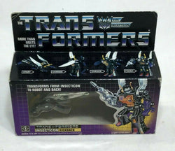 1985 Vintage G1 Transformers Insecticon Kickback SEALED Boxed MISB Original