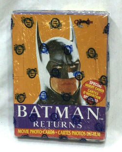 1992 Batman Returns Topps / OPC O-Pee-Chee Canadian Wax Box Sealed Wrapped RARE