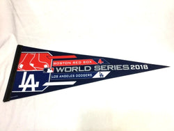 2018 World Series Duel Pennant Boston Red Sox Los Angeles Dodgers (WC) FREESHIP