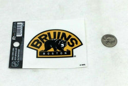 New NHL Boston Bruins Bear Logo Small Static Cling Window Decal 3x4 Size Vinyl