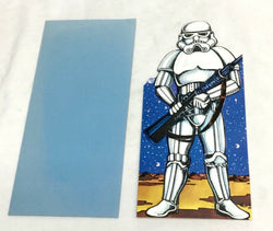 "1977 Vintage Star Wars Greeting /Birthday Card 10"" x 5"" Size Un-Used Envelope"
