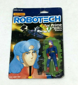 1985 Vintage Matchbox Robotech Zor Prime Figure MOC Carded Sealed FREESHIP