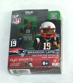 OYO Sports Figure Generation 2 Series 1 New England Patriots Brandon Lafell