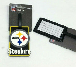 NFL Pittsburgh Steelers Luggage Tag Travel Bag ID Golf Tag FREESHIP