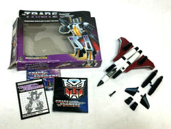 1985 Vintage G1 Transformers Ramjet Jet Plane Boxed Complete Instructions FREESP