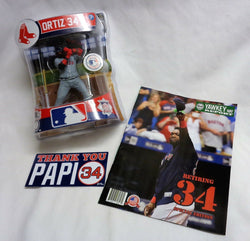 Imports Dragon Baseball Boston Red Sox David Ortiz Figure Retirement Program Lot