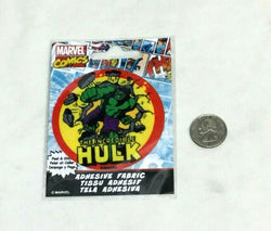 Marvel Comics Incredible Hulk Adhesive Fabric Jersey Jacket Patch Peel & Stick