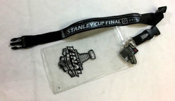 NHL 2013 Stanley Cup Finals Ticket Lanyard Pin Chicago Blackhawks Boston Bruins