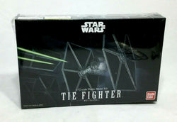 NEW Bandai Star Wars ESB ROTJ Imperial Tie Fighter Plastic Model Kit Sealed