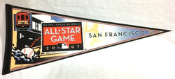 2007 MLB Baseball Allstar Game Pennant San Francisco Giants AT&T Park FREESHIP