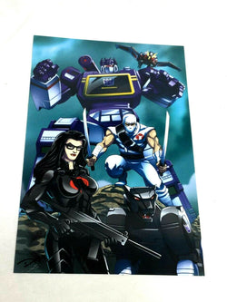 1980s Villains Gi Joe Transformers Cobra Storm Shadow Soundwave Poster 11x17