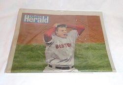 Boston Herald Newspaper Red Sox 2007 World Series Champions October 29th FREESHP