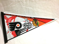 2010 Stanley Cup Finals Chicago Blackhawks Philadelphia Flyers Duel Pennant