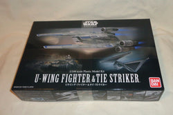 NEW Bandai Star Wars U-Wing & Tie Striker Plastic Model Kit 1/144 Scale Box Set