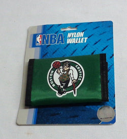NBA Boston Celtics Nylon Tri Fold Wallet FREESHIPPING