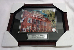 Fenway Park 100th Anniversary Boston Red Sox Framed Matted Picture 13x16 FREESHP
