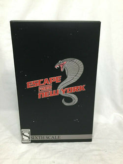 Sideshow Collectibles Escape from New York Snake Plissken 12 Inch Figure FREESHP