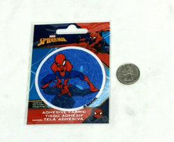 Marvel Comics Spiderman Adhesive Fabric Jersey Jacket Patch Peel & Stick FREESHP