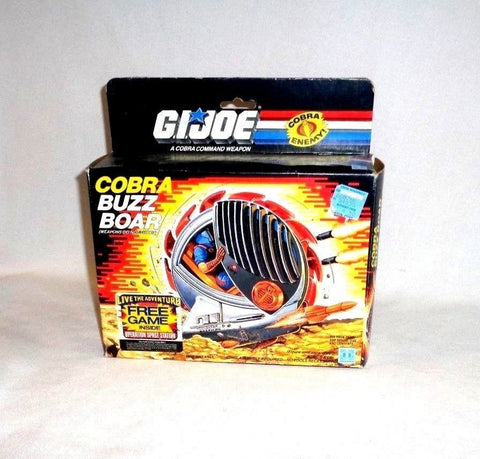1988 Vintage GI Joe ARAH Cobra Buzz Boar Sealed Contents Boxed Mint FREESHIP