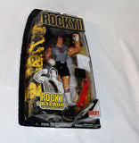 Jakks Pacific Rocky 2 Balboa Training Boxing Figure Sylvester Stallone Sealed