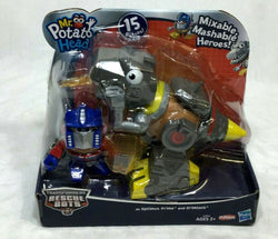 Playskool Transformers Mr Potato Head Rescue Heroes Grimlock Optimus Prime MOC