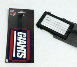 NFL New York Giants Luggage Tag Travel Bag ID Golf Tag FREESHIP