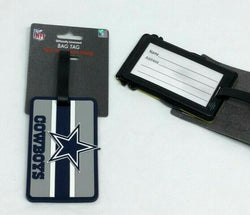 NFL Dallas Cowboys Luggage Tag Travel Bag ID Golf Tag FREESHIP