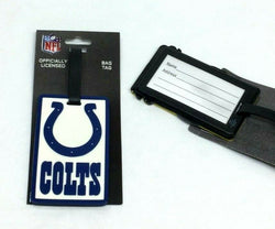 NFL Indianapolis Colts Luggage Tag Travel Bag ID Golf Tag FREESHIP