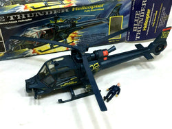 1983 Vintage Multi-Toys Blue Thunder Helicopter Movie Boxed Box Pilot Complete