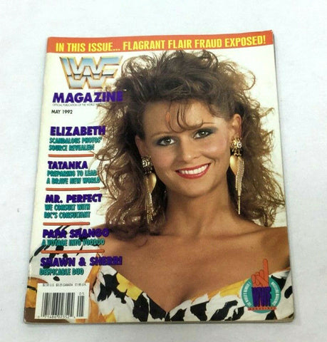 May 1992 WWF Magazine Book Miss Elizabeth Randy Savage Story Cover FREESHP