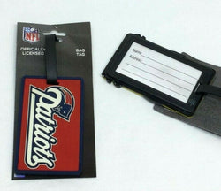 NFL New England Patriots Luggage Tag Travel Bag ID Golf Tag FREESHIP
