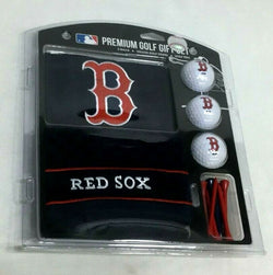 d1efe5cea MLB Boston Red Sox Golf Gift Set with Embroidered Towel Ball Tees Fenway  FREESHP