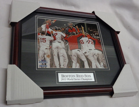 Boston Red Sox 2013 World Series Champions Framed Matted Picture 13x16 FREESHIP