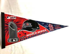 2006 World Series Champions St Louis Cardinals Pennant FREESHIP