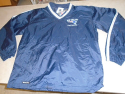 New England Patriots Holloway Pull Over Light Jacket Size Mens Large NEW