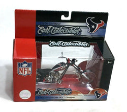 Ertl NFL Houston Texans OCC Orange County Choppers Motorcycle 1:18 Boxed New