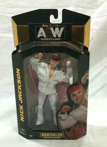 AEW All Elite Wrestling Unrivaled Series Nick Jackson Figure Young Bucks FREESHP