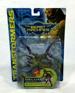 NEW Transformers Beast Machines Black Arharachnia Deluxe Class MIB Sealed Carded