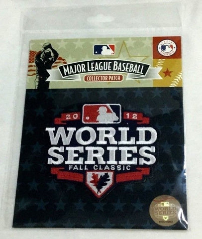 2012 World Series Jersey Patch San Francisco Giants Detroit Tigers FREESHIP
