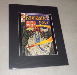 1965 Marvel Comics Fantastic Four #47 Matted Picture Poster 16x20 FREESHIP