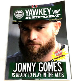 Yawkey Way Report 2013 ALDS Division Series Boston Red Sox Tampa Rays Program