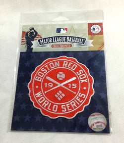 Official Boston Red Sox 1915 World Series Champions Patch Fenway Park FREESHIP