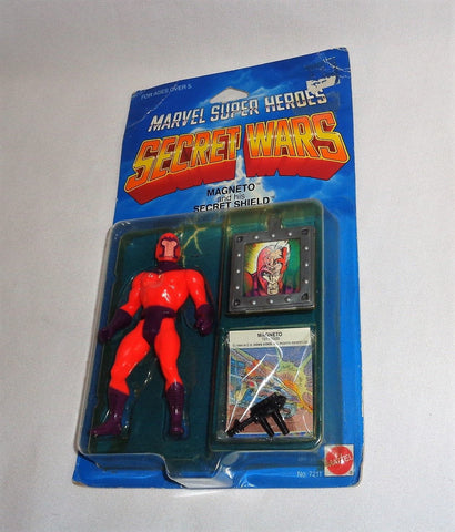 1984 Mattel Marvel Secret Wars Xmen Magneto Figure MOC Sealed Carded FREESHIP