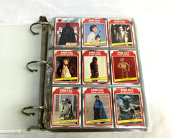 1980 Topps Star Wars Empire Strikes Back Complete Master Set & Stickers Wax Pack