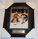 Boston Bruins 1972 Stanley Cup Gerry Cheevers Bobby Orr Framed Picture 13x16