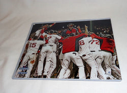Boston Red Sox 2013 World Series Champions Fenway Park Pile Picture Photo 8x10
